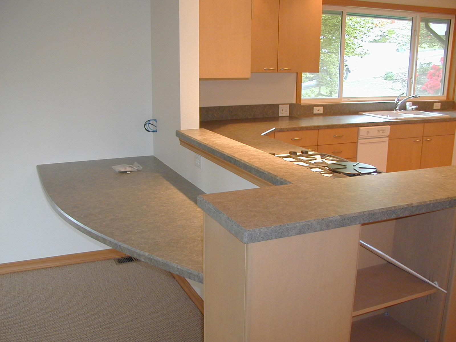 Laminate kitchen countertops kitchen trends countertop for Counter top thickness