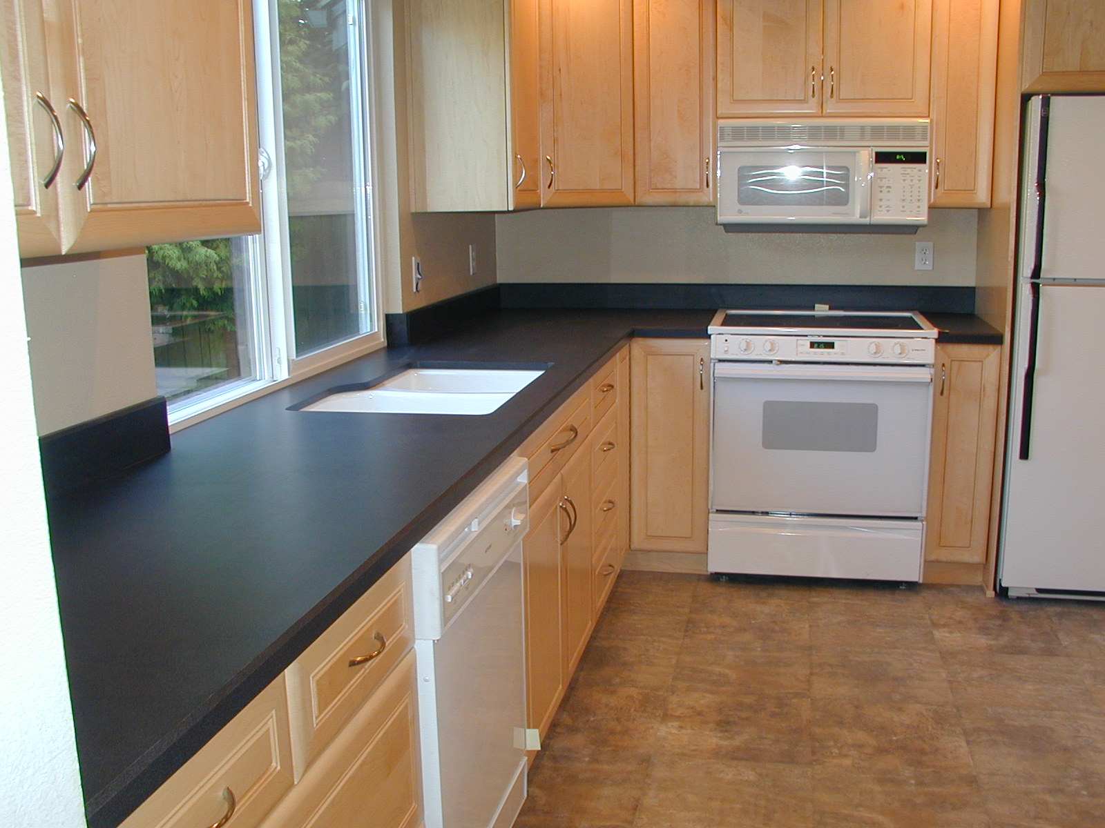Seattle countertop design portfolio Kitchen design black countertops