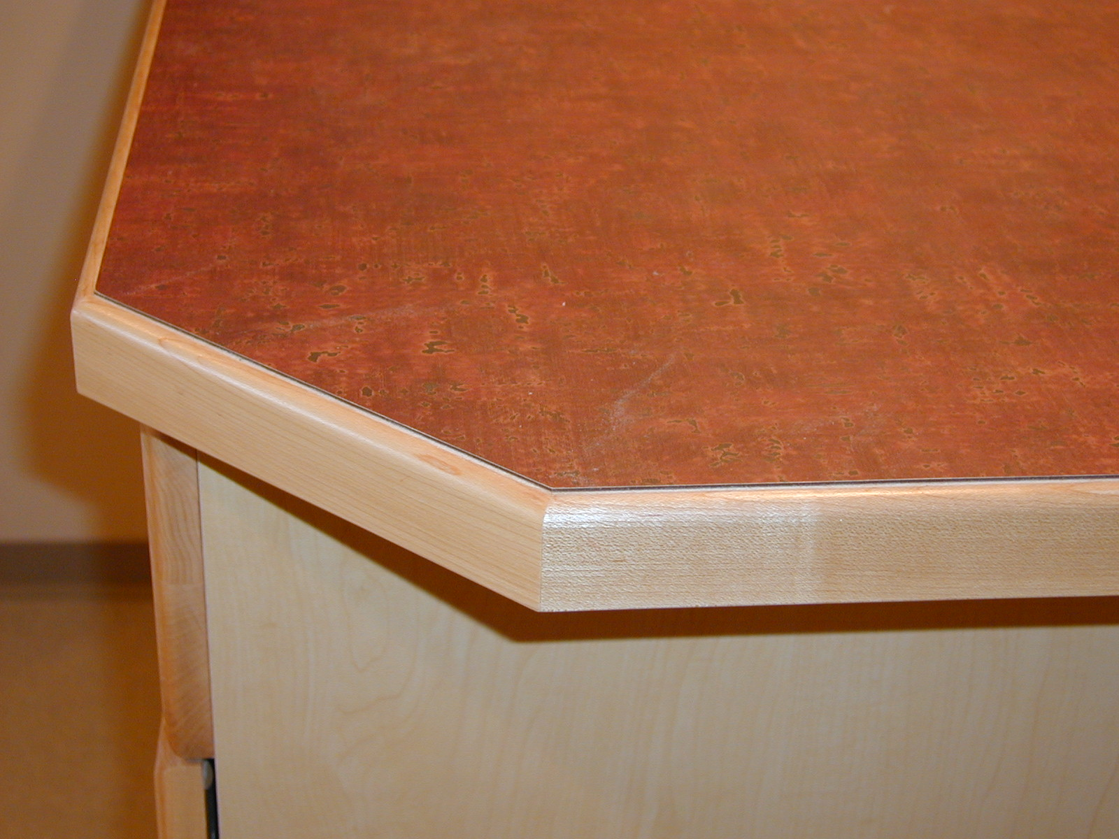 Wood Countertops Edge Pro With 12 Inch Round Vertical
